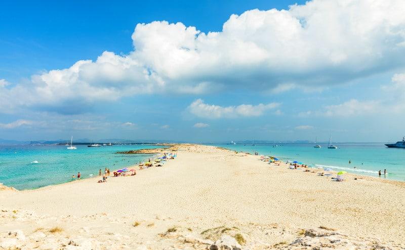 Playa de Llevant en Formentera